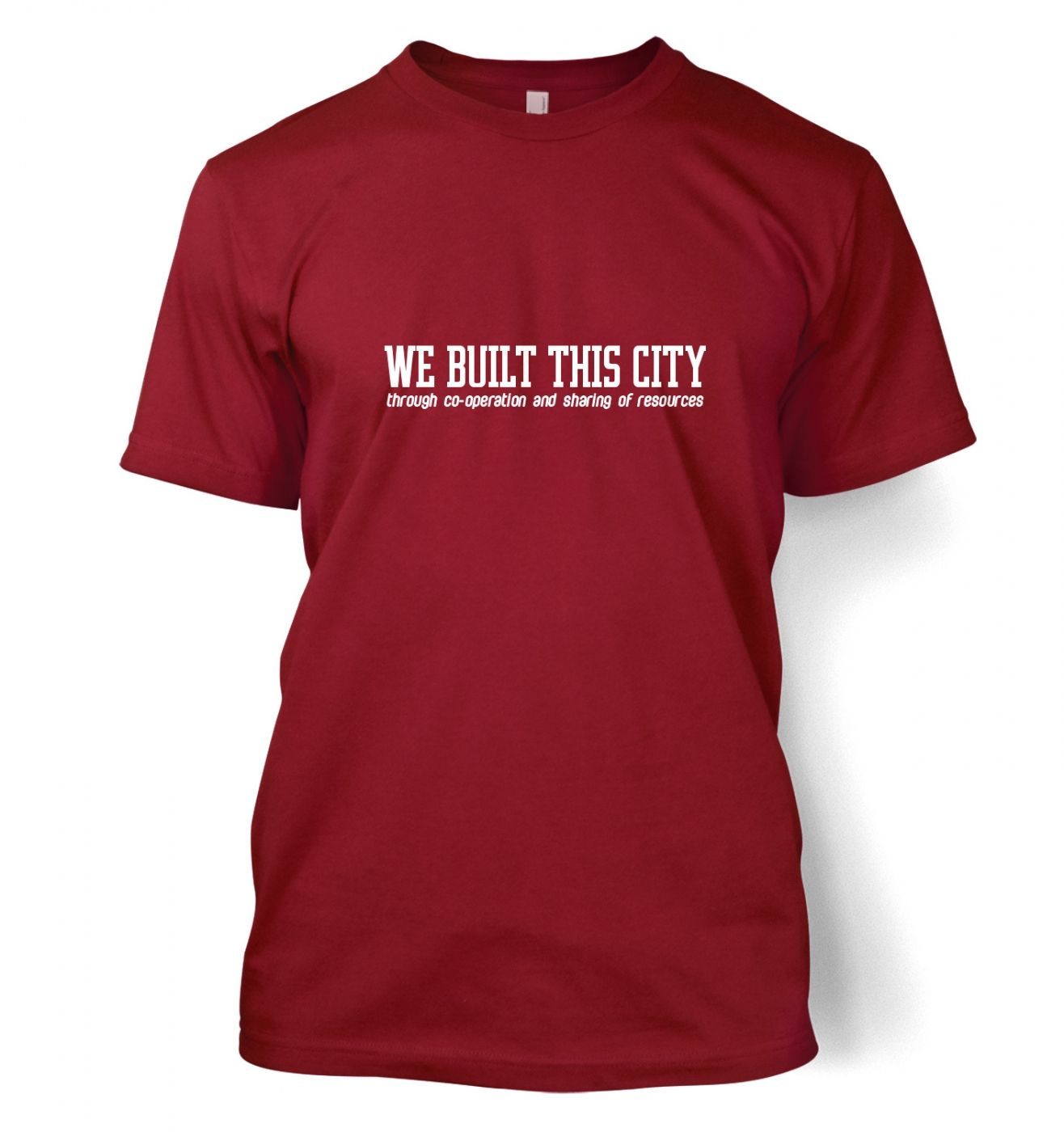 built this city tee